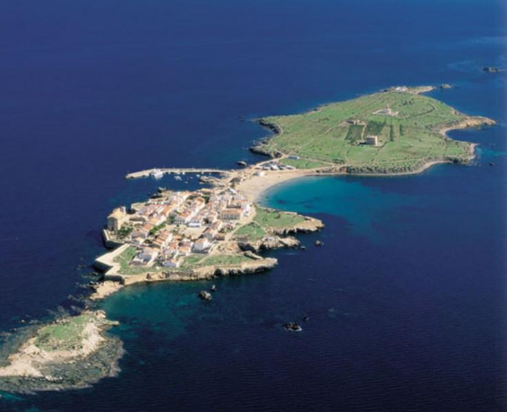 Arquitectura Vista aerea de la Isla de Tabarca
