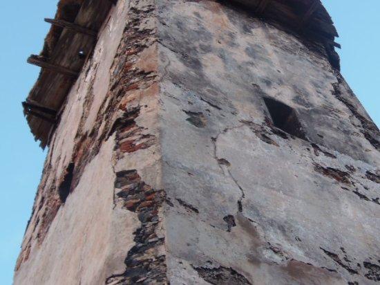 Arquitectura_faro Holandes_LosRoques_ detalle de la piedra del faro