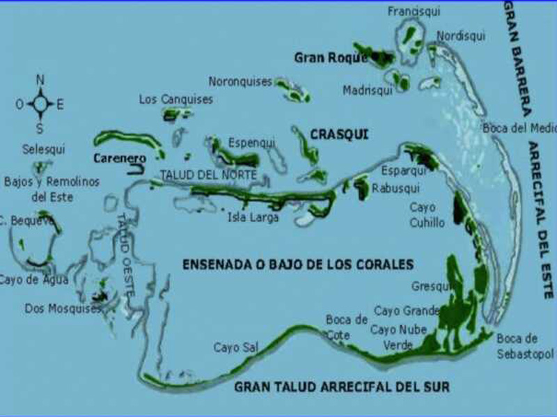 Arquitectura_faro Holandes_LosRoques_ubicacion del arqchipielago