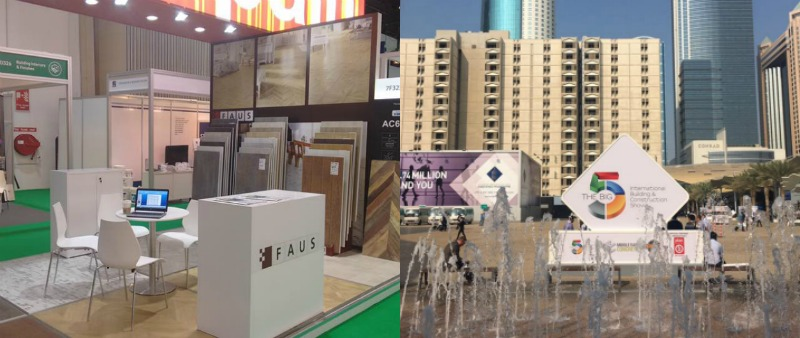 arquitecto, arquitectura, arquitecta, diseño, design, diseñador, diseñadores, FAUS, materiales, tecnología, fería internacional, Dubai, Barcelona, InteriHotel, The Big 5, pavimento, revestimiento, FAUS International Flooring