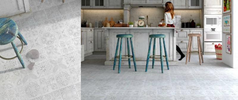 Faus suelos laminados para cocina y ba o arquitectura for Suelo laminado para banos