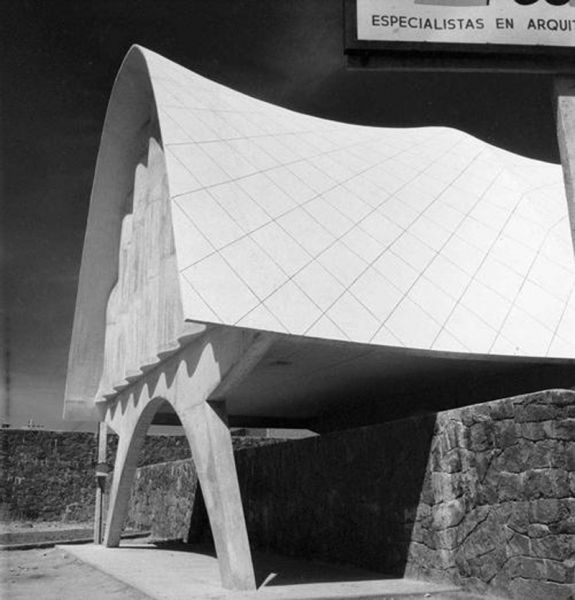 Arquitectura pabellón de rayos cósmicos
