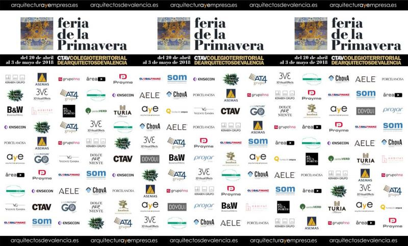 FERIA DE LA PRIMAVERA 2018 CTAV ARQUITECTURA Y EMPRESA PHOTOCALL