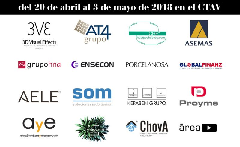 FERIA DE LA PRIMAVERA 2018 CTAV ARQUITECTURA Y EMPRESA PATROCINADORES