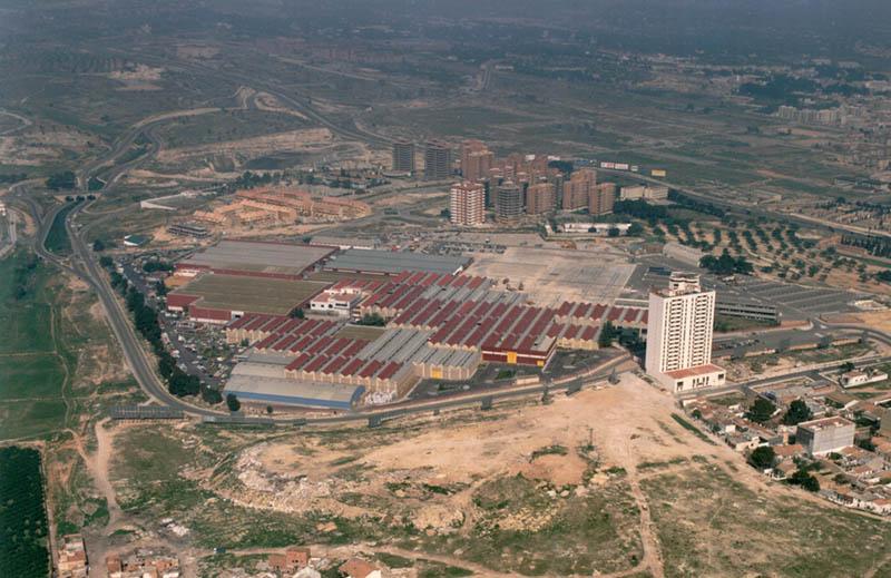 arquitectura vista aerea de feria valencia