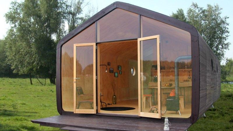 arquitectura, arquitecto, ecológico, ecología, sostenible, sostenibilidad, Fiction Factory, Wikkelhouse, cartón, papel, eco-friendly, diseño, design, interiores, modular, ampliable, vivienda, oficina, transportable, Amsterdam