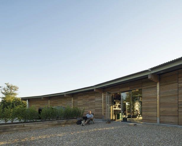 arquitectura_Fishing lodge_fachada trasera
