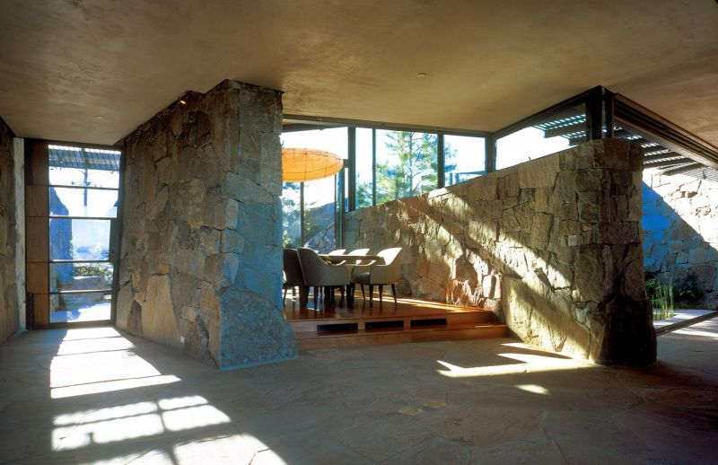 arquitectura_Flato Lake_Bartlit Residence_interior