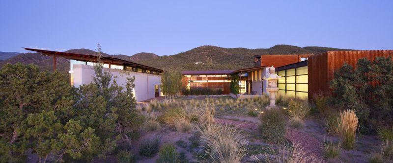 arquitectura_Flato Lake_Casa del desierto_exterior