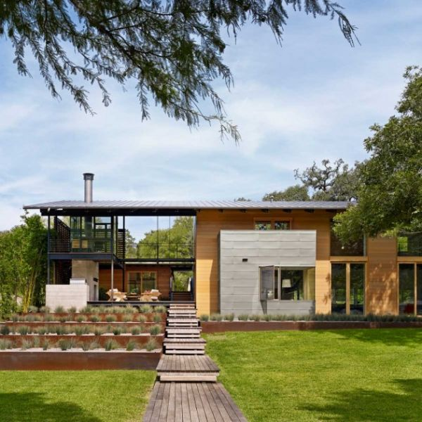 arquitectura_Flato Lake_Hog Pen Creek Residence_exterior