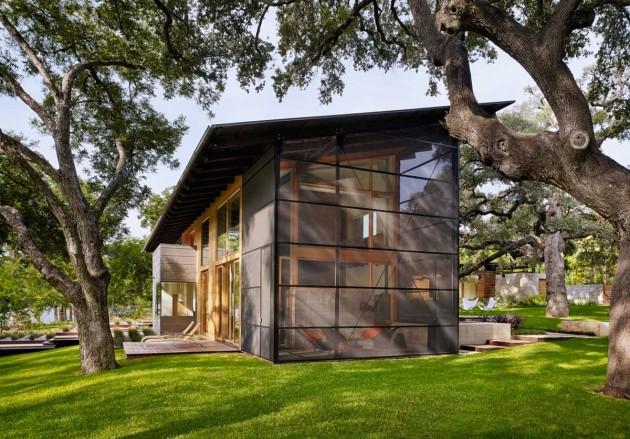 arquitectura_Flato Lake_Hog Pen Creek Residence_exterior2