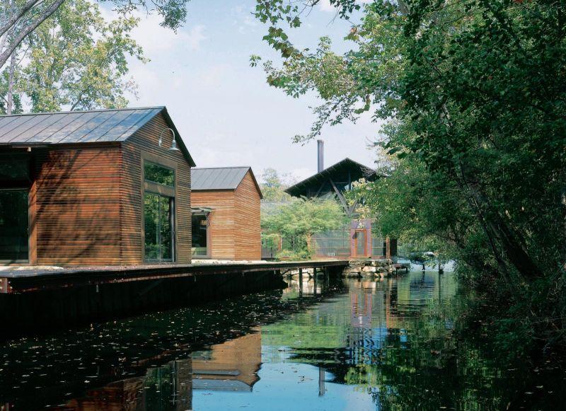 arquitectura_Flato Lake_Lake Austin House_exterior