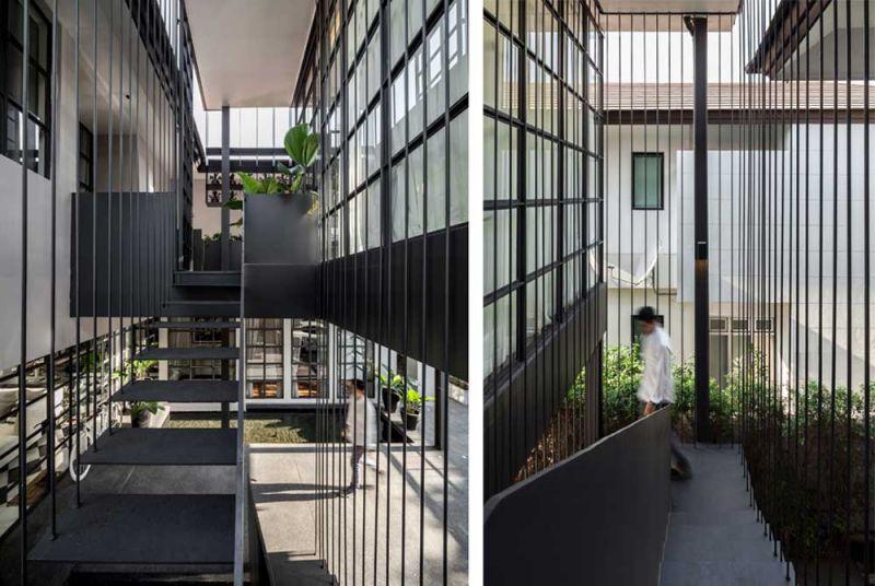 arquitectura flower cage house anonym fotografia escalera