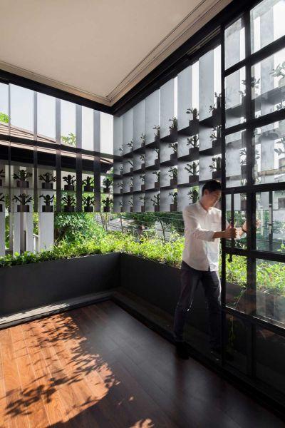 arquitectura flower cage house anonym fotografia apertura puertas