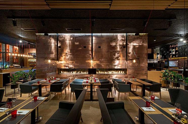 Arquitectura y alta cocina food forest park restaurant for Proyecto cocina restaurante