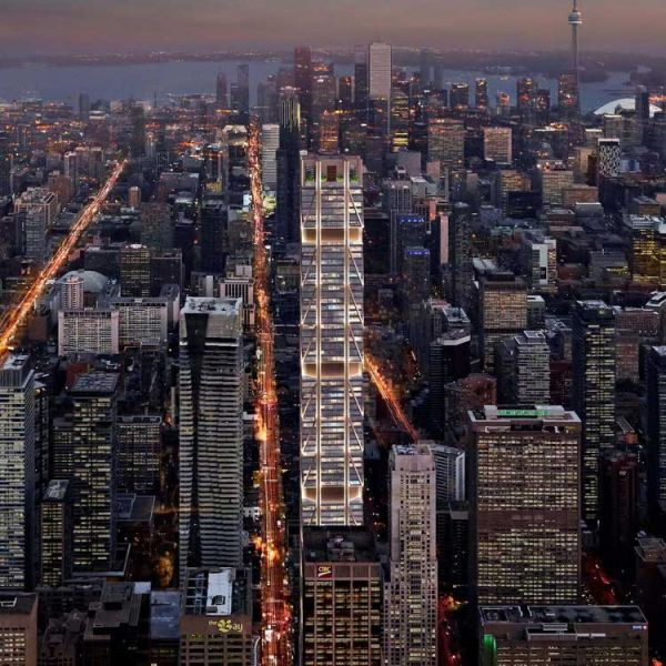 the one foster & partners toronto nocturno