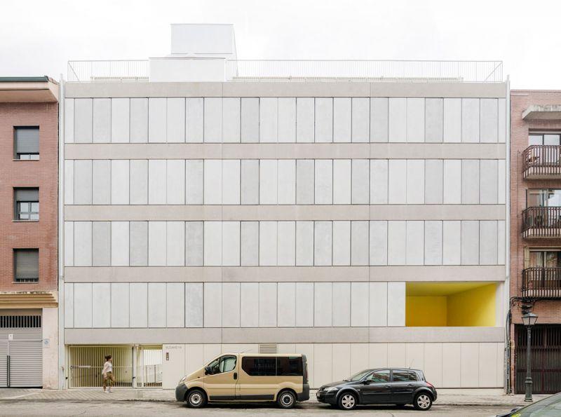 arquitectura Fernando Rodríguez  Pablo Oriel estudio FRPO bloque elcano fachada principal