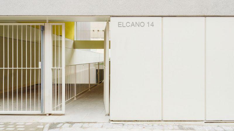 arquitectura Fernando Rodríguez Pablo Oriel estudio FRPO bloque elcano acceso principal