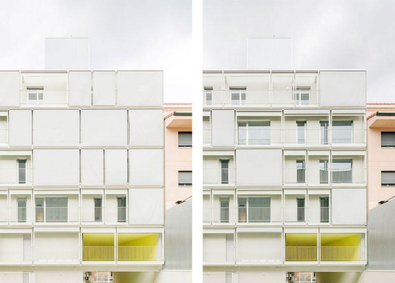 arquitectura Fernando Rodríguez Pablo Oriel estudio FRPO bloque elcano fachada sur