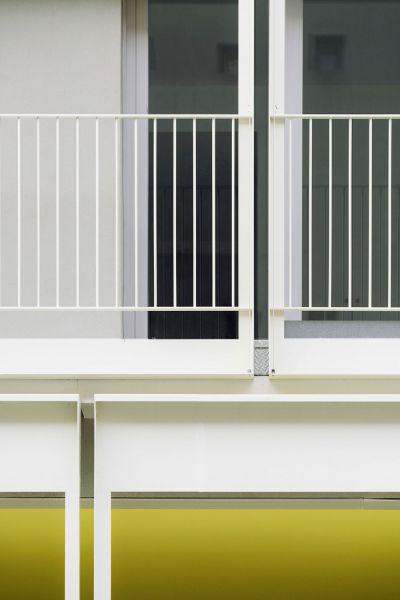 arquitectura Fernando Rodríguez Pablo Oriel estudio FRPO bloque elcano detalle fachada sur