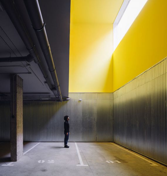 arquitectura Fernando Rodríguez Pablo Oriel estudio FRPO bloque elcano parking