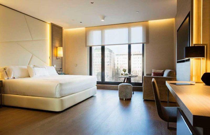 arquitectura hotel VP Plaza España design B720 arquitectos Cuarto Interior Studio Ronda FSB New lock Systems habitacion
