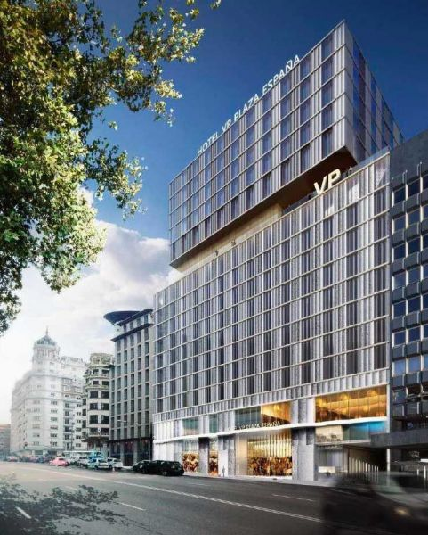 arquitectura hotel VP Plaza España design  B720 arquitectos Cuarto Interior Studio Ronda FSB New lock Systems exterior