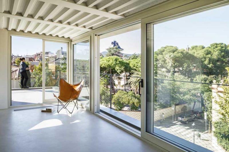 arquitectura FSB Lucia Olano Lafita Casa modernista fotografia interior atico
