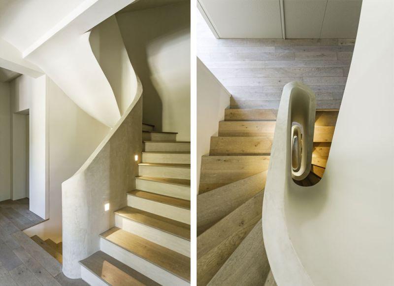 arquitectura FSB Lucia Olano Lafita Casa modernista fotografia interior escalera