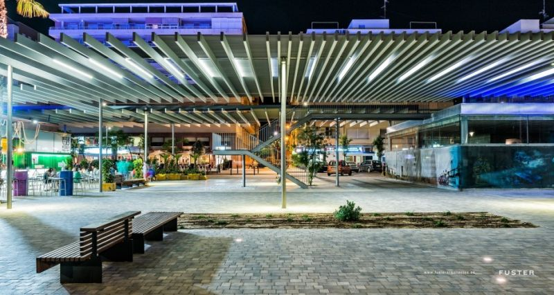 arquitectura_Fuster arquitectos_paseo Adolfo Suarez Santa Pola_contenedores programa