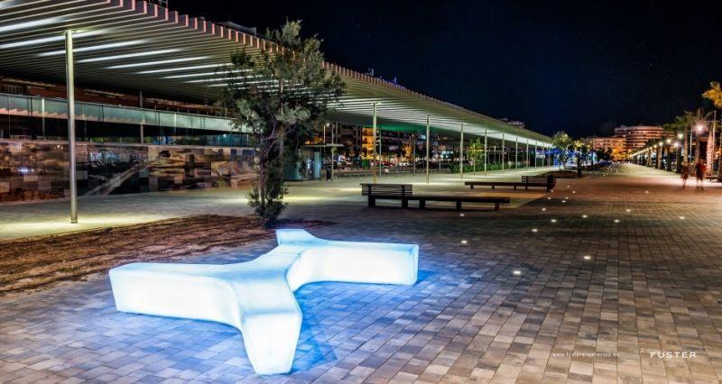 arquitectura_Fuster arquitectos_paseo Adolfo Suarez Santa Pola_iluminación