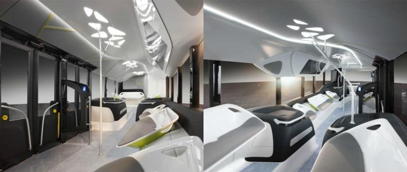 arquitectura, diseño, deisgn, transporte público, autobús, automatizado, automático, robotizado, robot, inteligente, Future Bus, Mercedes-Benz, DAIMLER