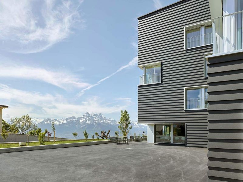 arquitectura fwg architects odmer centro medico fotografia exterior