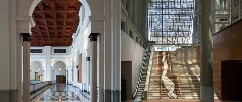 arquitectura, arquitecto, diseño, design, rehabilitación, galería de arte, Singapur, Asia, estructura metálica, vidrio, Studio Milou, CPG Consultants