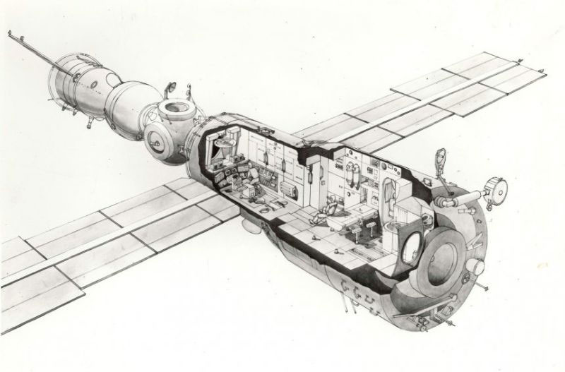 Galina Balashova arquitecta diseño interiores espacial dibujo 01