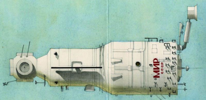 Galina Balashova arquitecta diseño interiores espacial dibujo 09