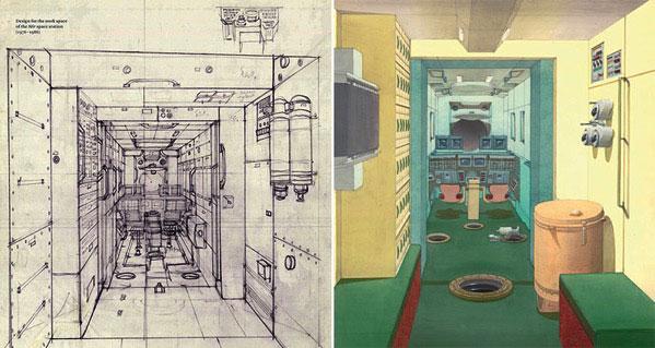 Galina Balashova arquitecta diseño interiores espacial dibujo 03