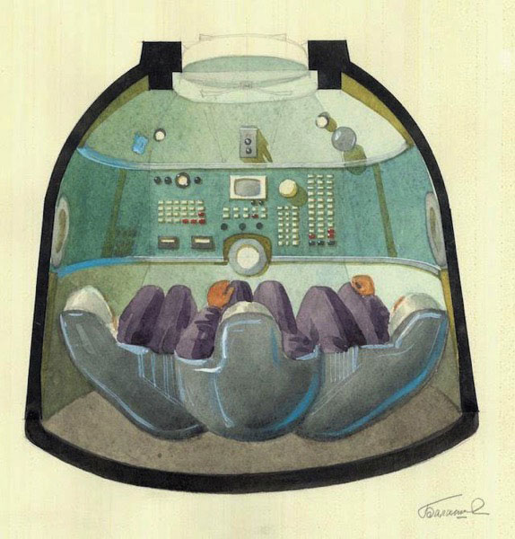 Galina Balashova arquitecta diseño interiores espacial dibujo 02