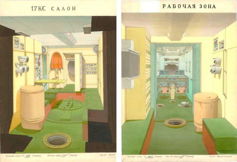 Galina Balashova arquitecta diseño interiores espacial dibujo 06