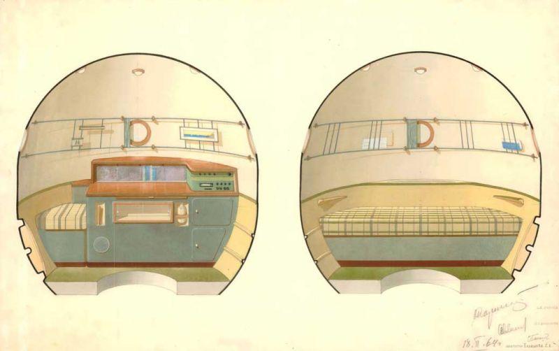 Galina Balashova arquitecta diseño interiores espacial dibujo 04