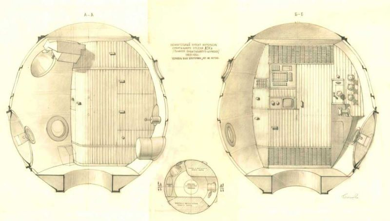 Galina Balashova arquitecta diseño interiores espacial dibujo 08