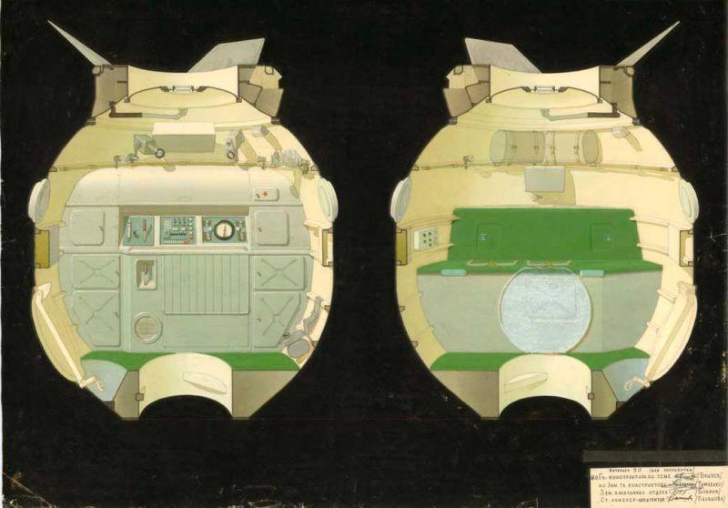 Galina Balashova arquitecta diseño interiores espacial dibujo 10