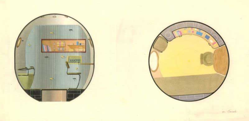 Galina Balashova arquitecta diseño interiores espacial dibujo 07