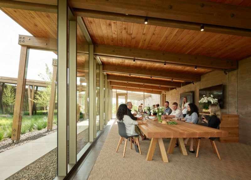 arquitectura_Graham Baba Architects_washington fruit company_comedor