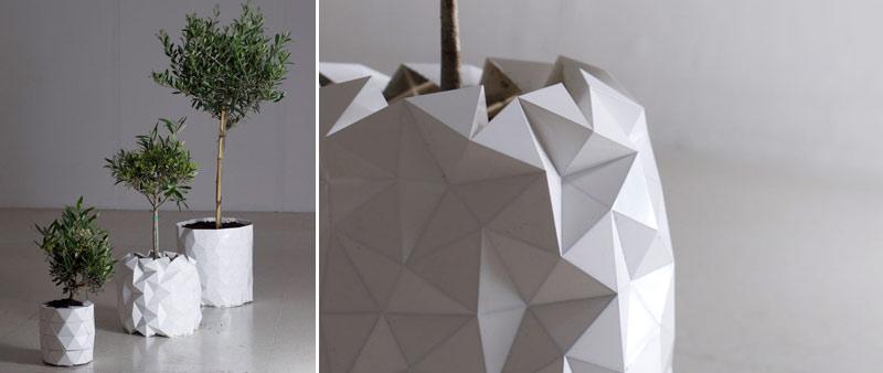 maceta origami growth la maceta que crece junto a las