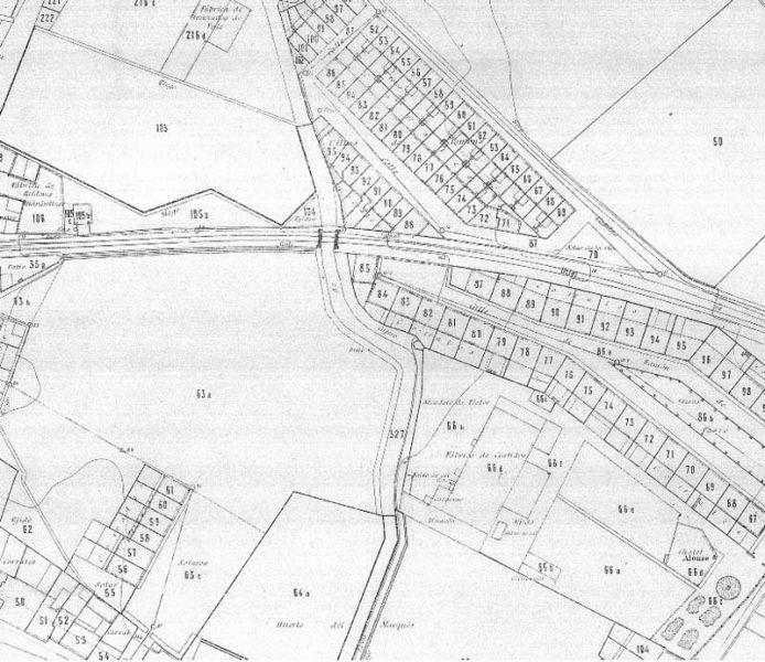 arquitectura_ Grupo ramon de castro- plano_Cartográfico 1929-1945