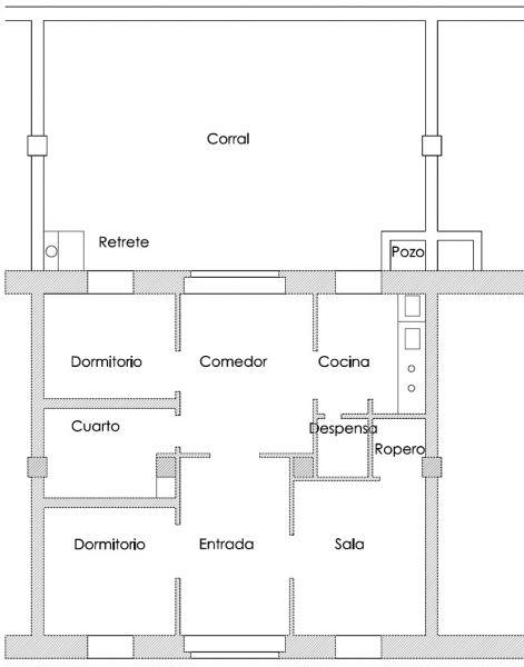 arquitectura_ Grupo ramon de castro_plano de planta