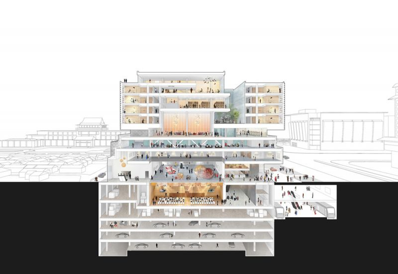 The Guardian Art Center Buro Ole Scheeren seccion