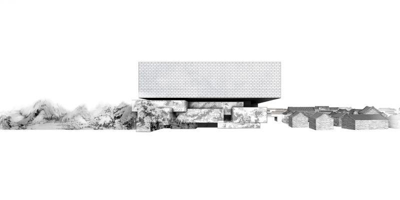 The Guardian Art Center Buro Ole Scheeren alzado