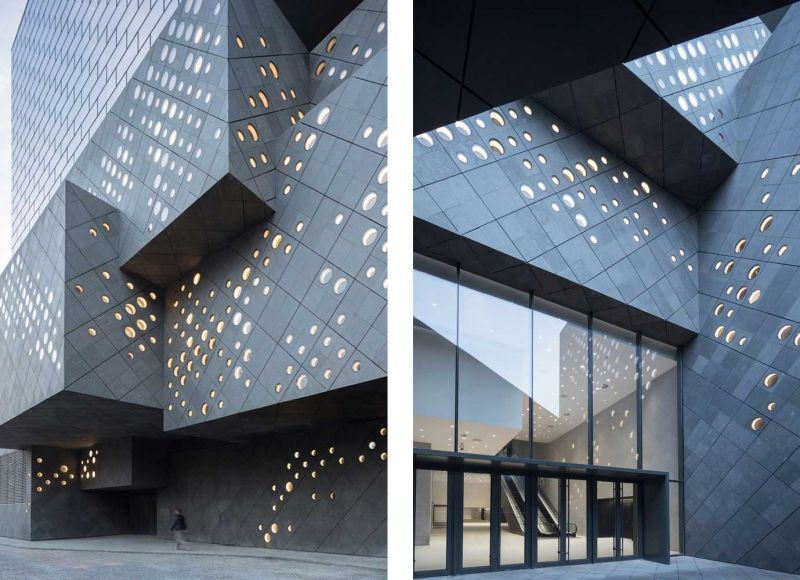 The Guardian Art Center Buro Ole Scheeren fotografias exteriores fachada